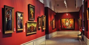 Оформление картинных галерей
