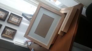 готовые рамки из деревянного багета под покраску